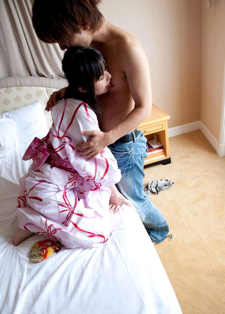 つぼみ (AV女優) 浴衣セックス画像 56