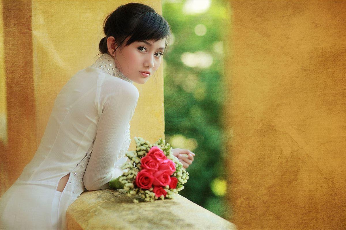 ベトナム民族衣装アオザイ画像 2