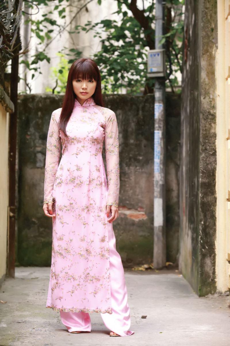 ベトナム民族衣装アオザイ画像 6