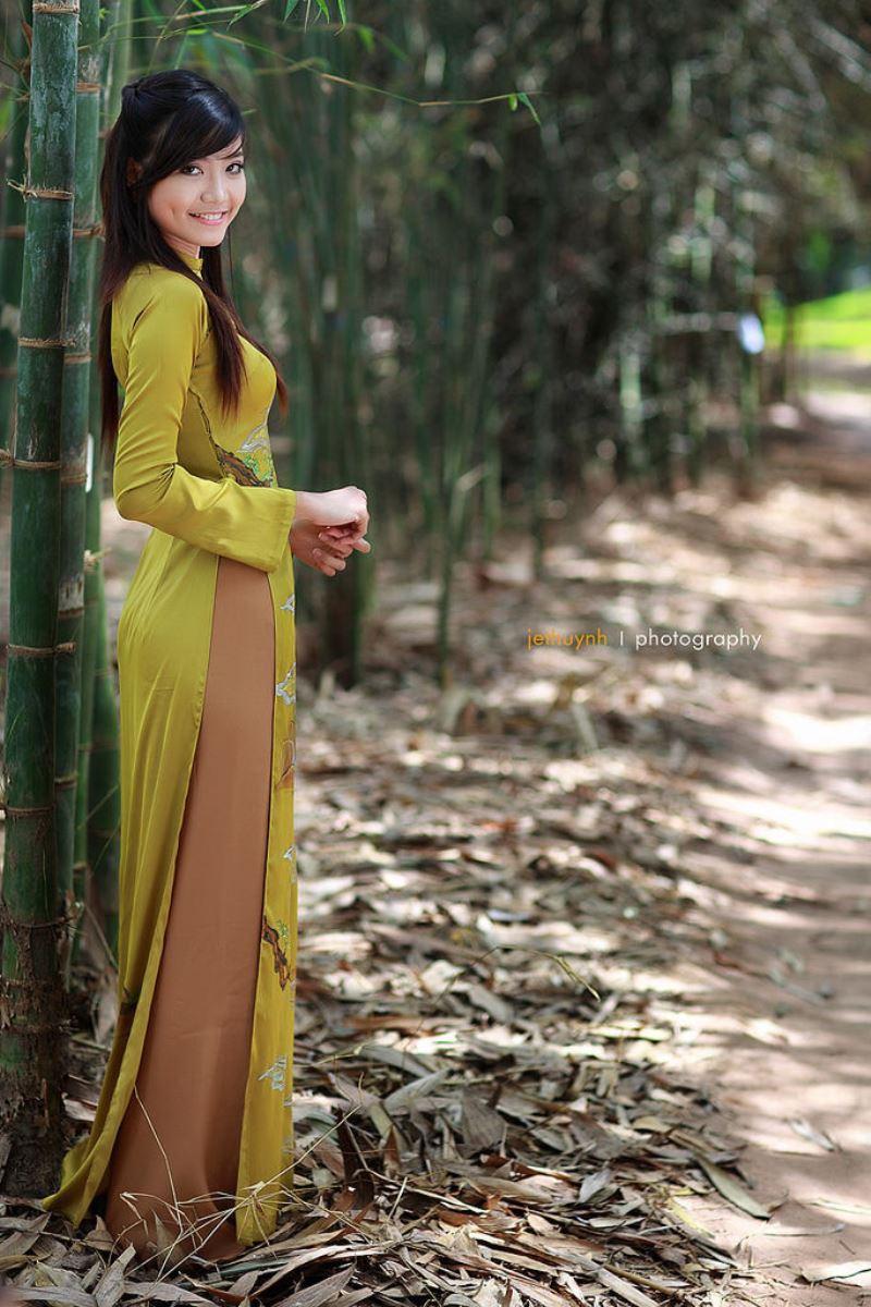 ベトナム民族衣装アオザイ画像 9