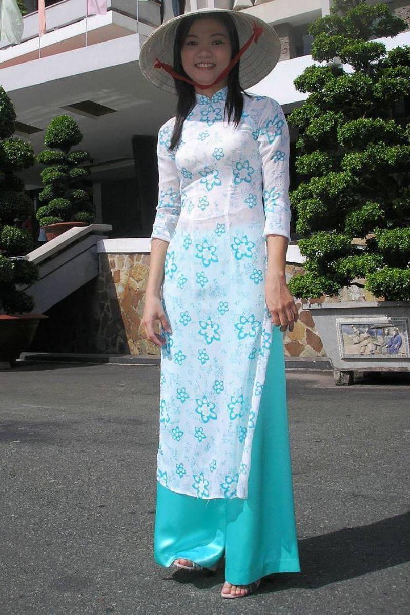ベトナム民族衣装アオザイ画像 11