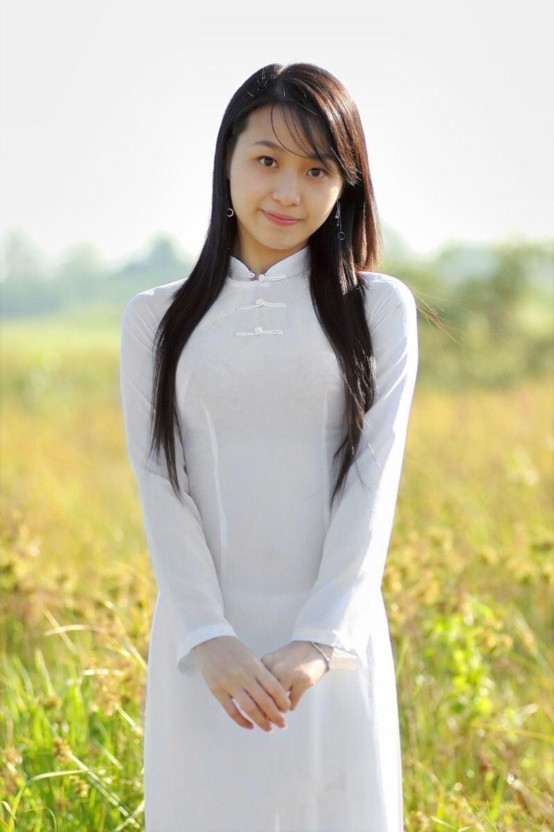 ベトナム民族衣装アオザイ画像 18