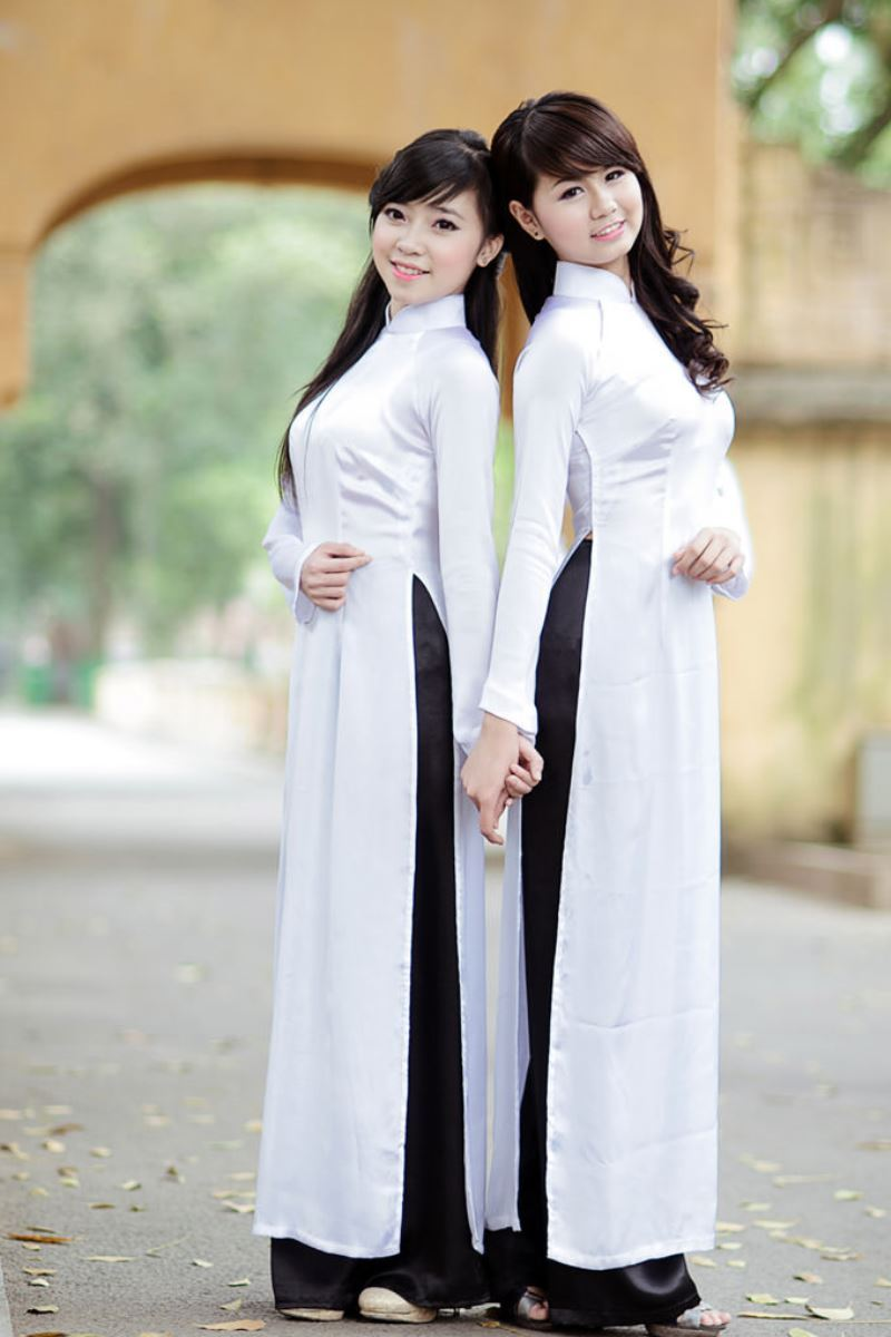 ベトナム民族衣装アオザイ画像 24