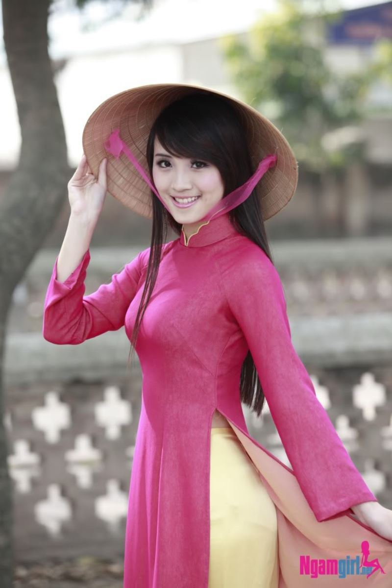 ベトナム民族衣装アオザイ画像 25