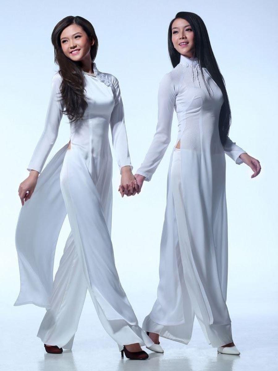 ベトナム民族衣装アオザイ画像 27