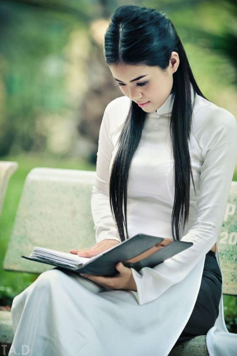 ベトナム民族衣装アオザイ画像 29