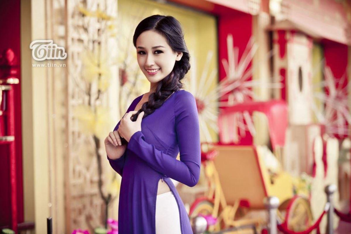 ベトナム民族衣装アオザイ画像 30