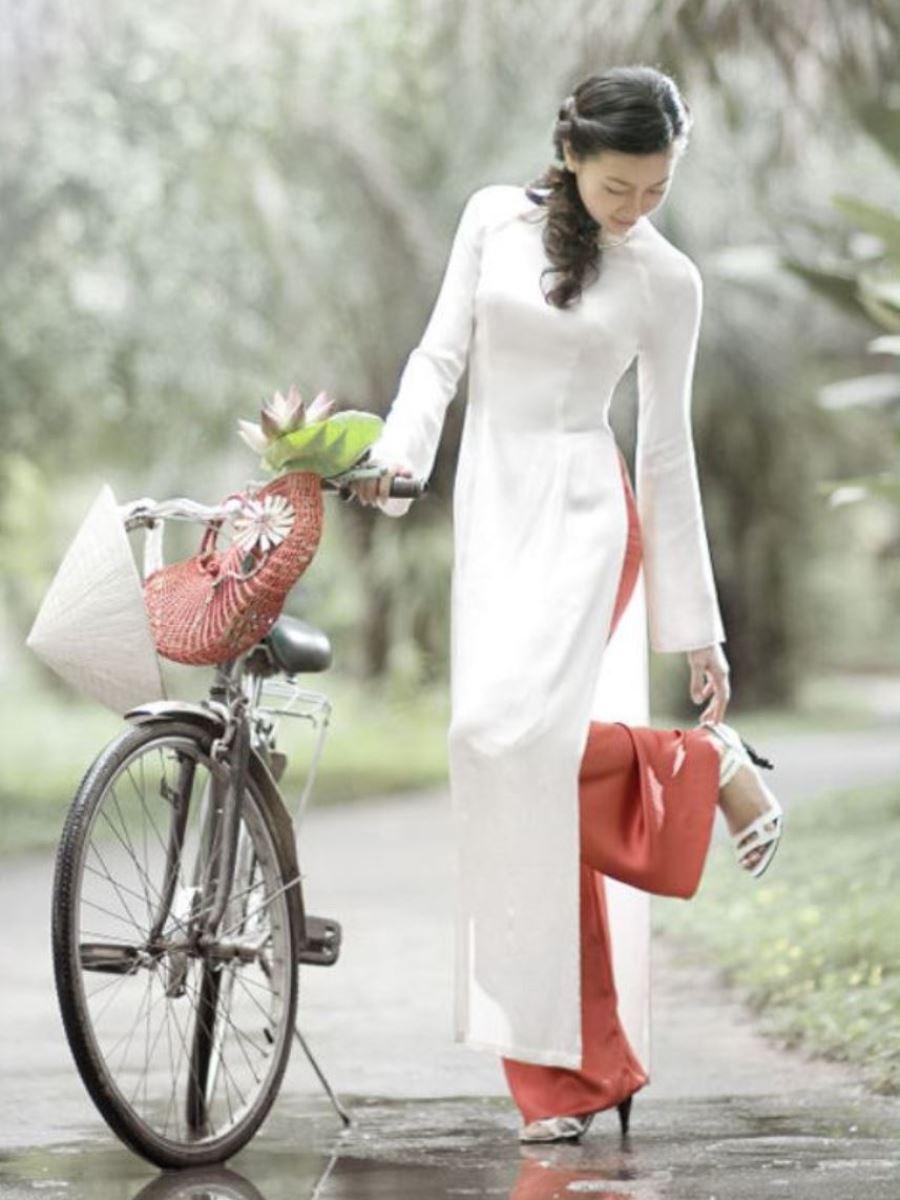 ベトナム民族衣装アオザイ画像 34