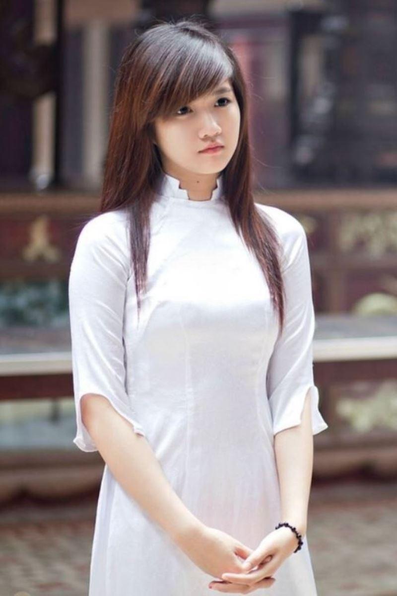 ベトナム民族衣装アオザイ画像 38