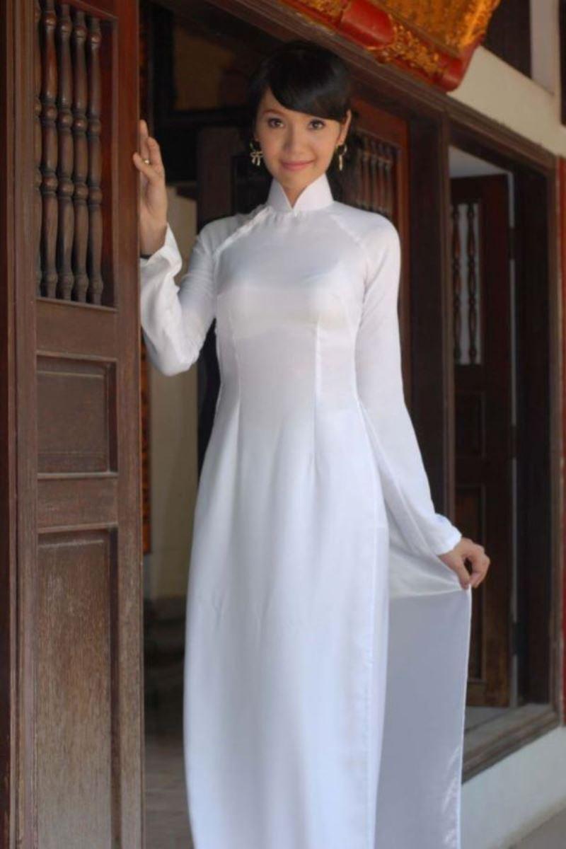 ベトナム民族衣装アオザイ画像 41