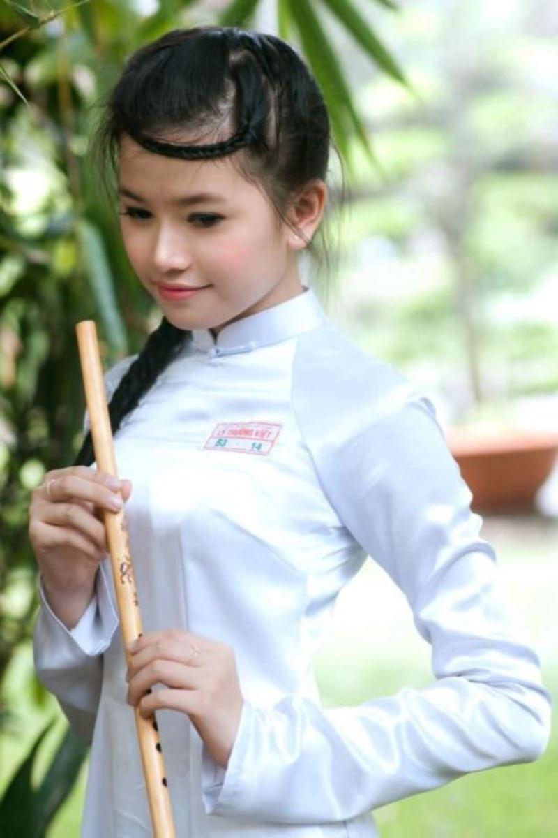 ベトナム民族衣装アオザイ画像 42