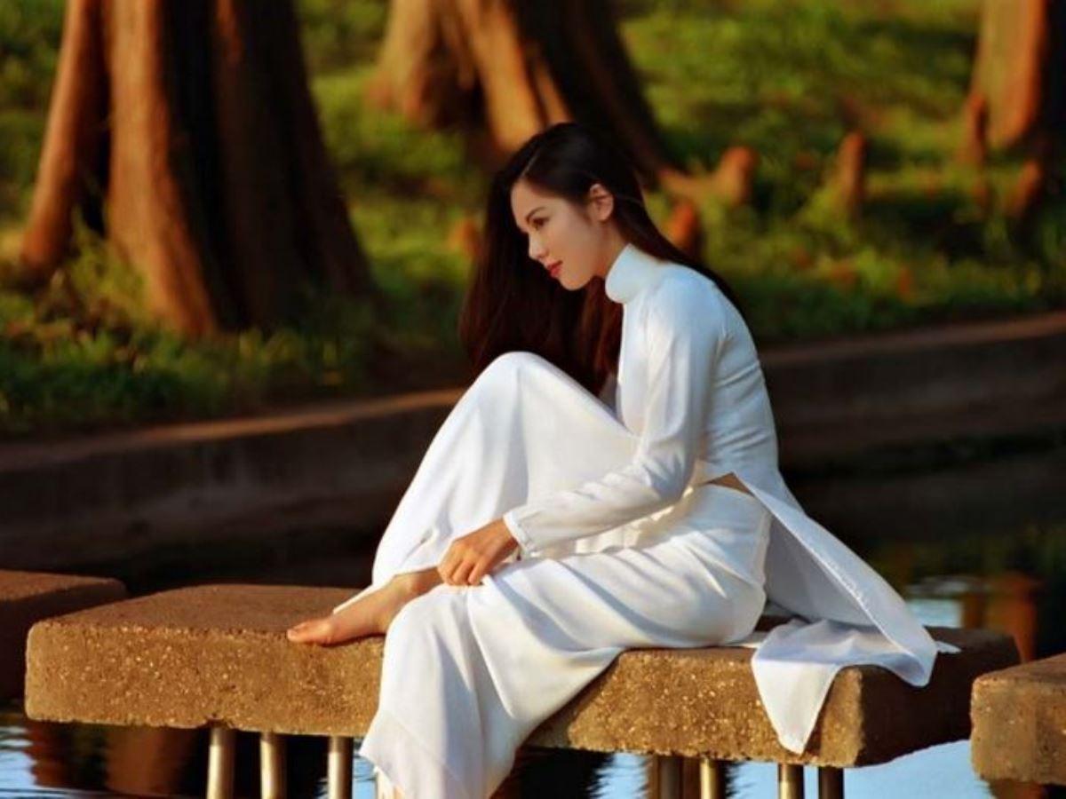 ベトナム民族衣装アオザイ画像 44