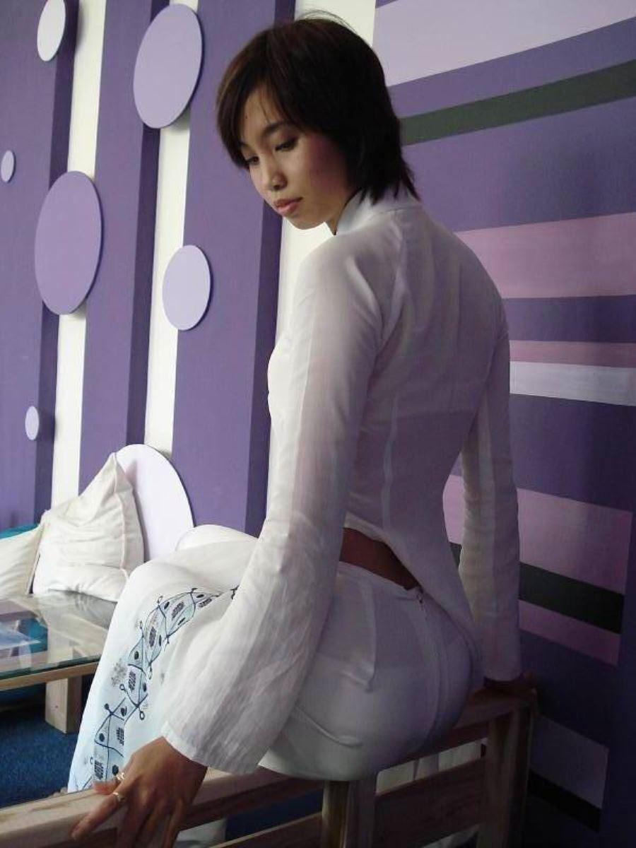 ベトナム民族衣装アオザイ画像 45