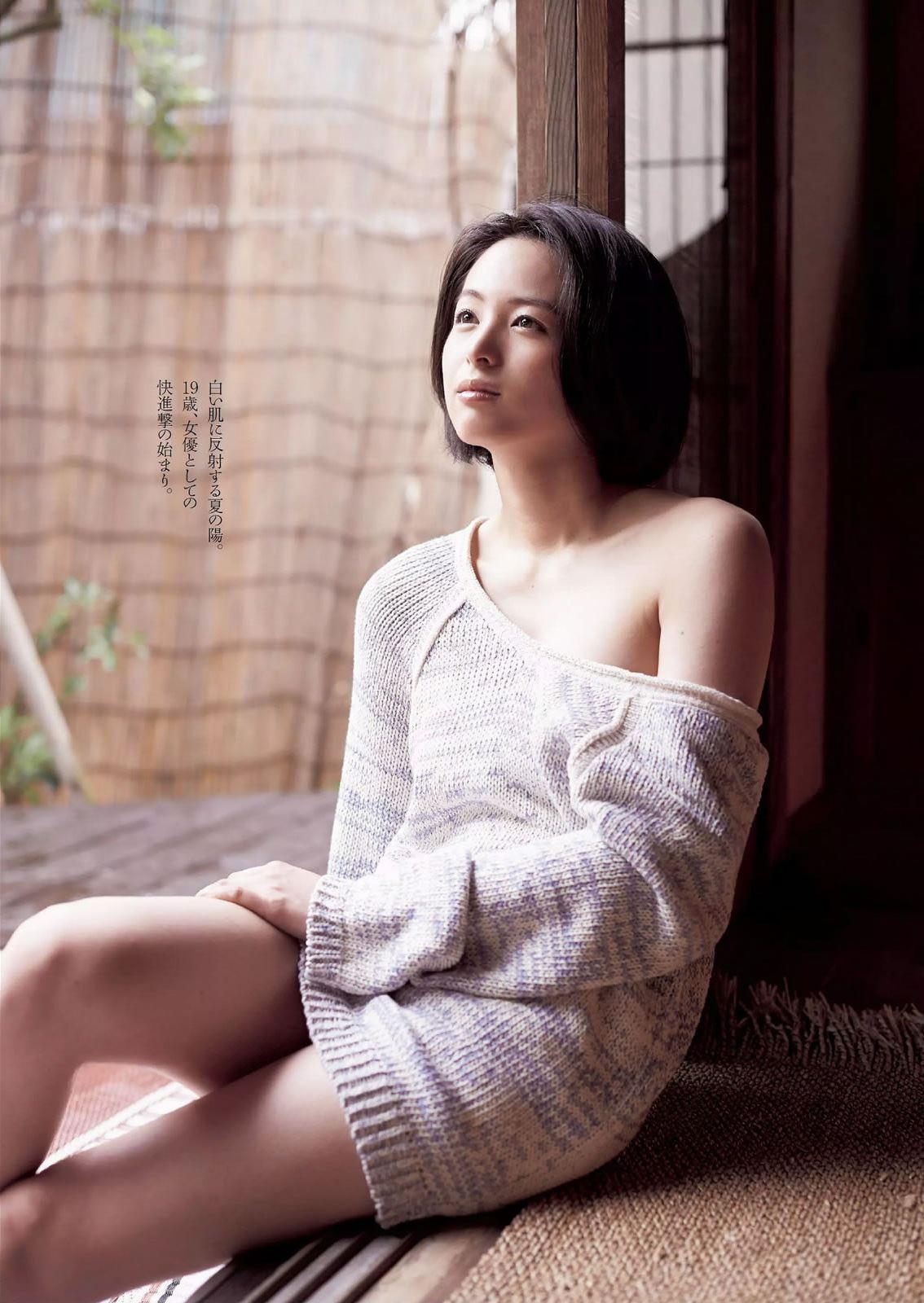 清野菜名 アクション女優の可愛い水着画像