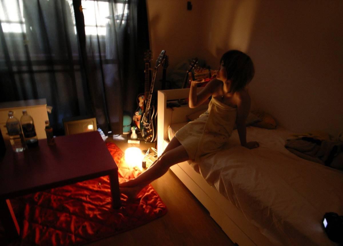 ギター女子のハメ撮りエロ画像 47