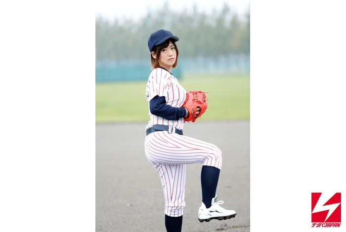 舞野いつき 乳輪デカい野球少女AVデビュー画像
