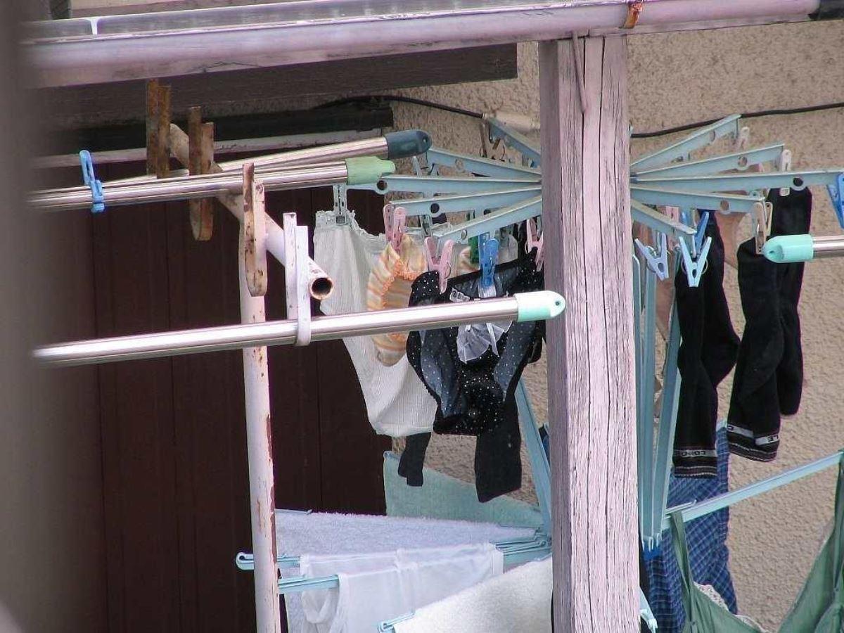 ベランダの下着盗撮画像 10