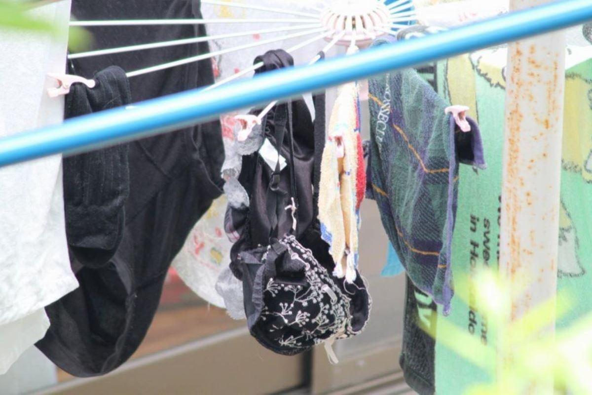 ベランダの下着盗撮画像 45