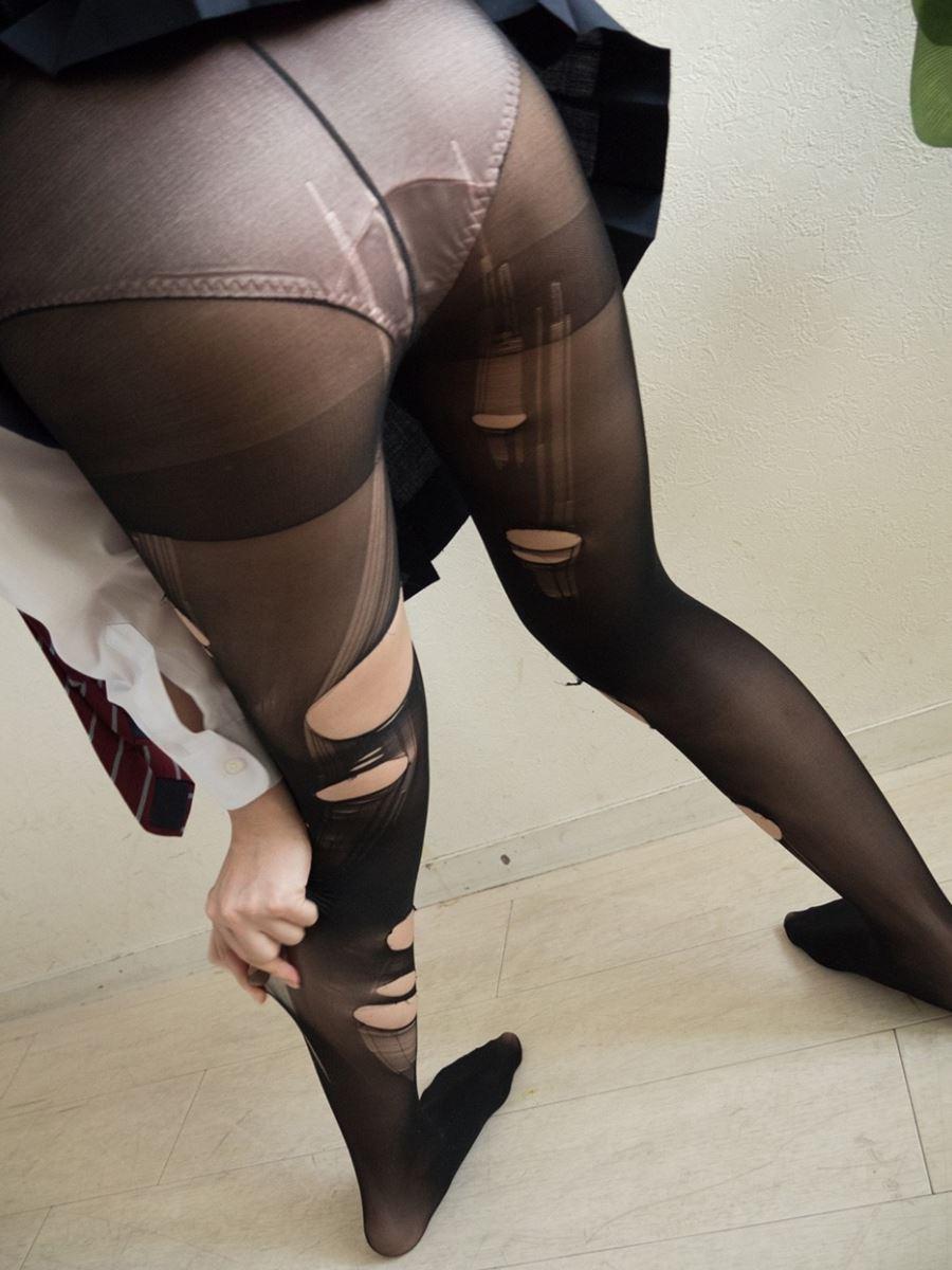 童顔素人にJKっぽく制服を着させたハメ撮りセックス画像 74