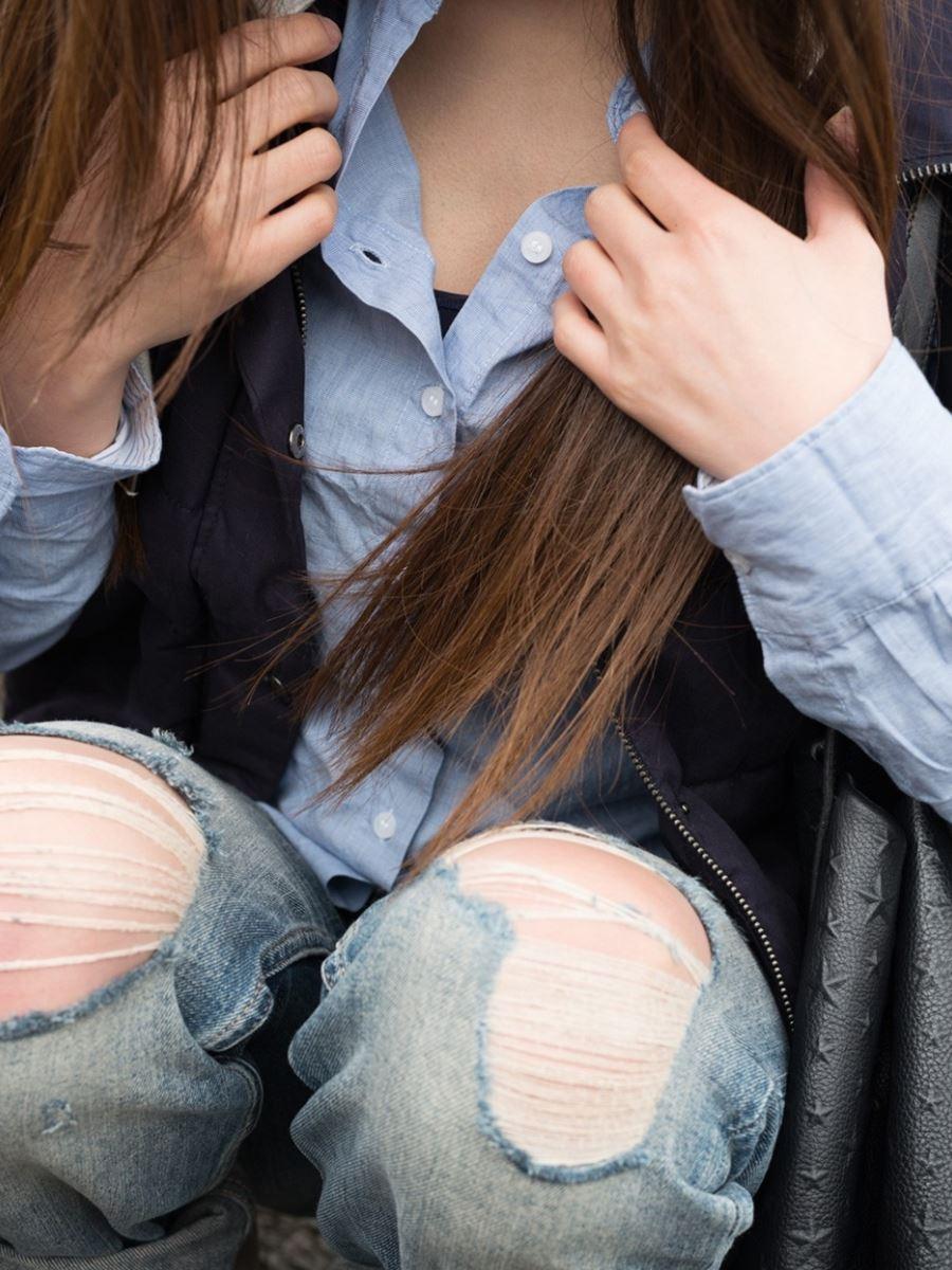 いやらしい若奥さん敏感ハメ撮りセックス画像 14