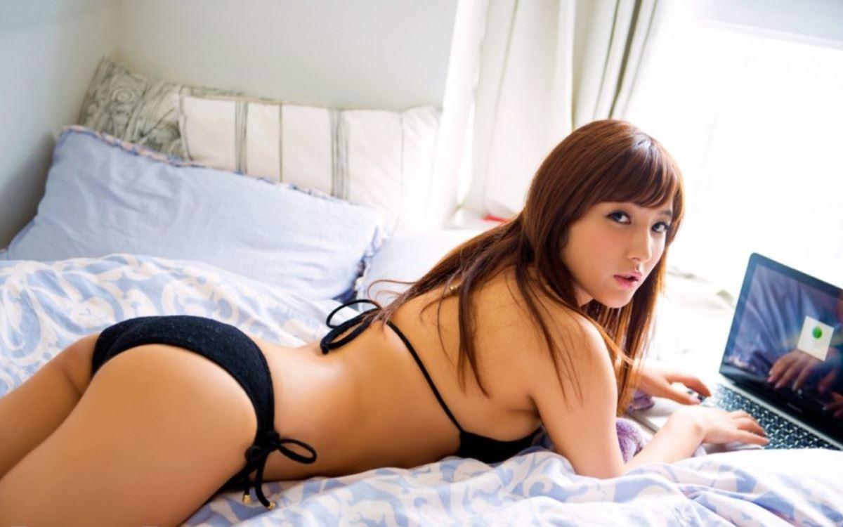 ヒップライン セクシー 渡辺万美 エロ画像 73