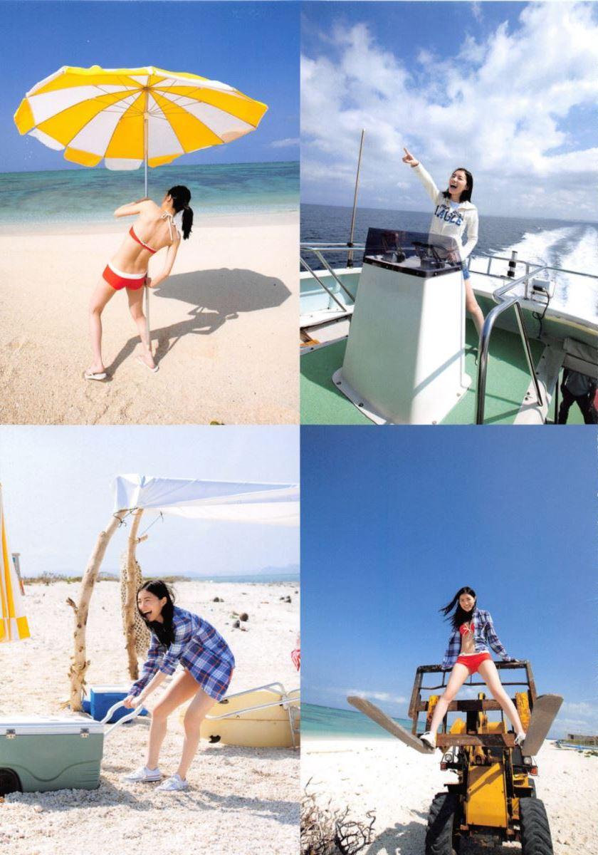 松井珠理奈の手ぶら写真集「Jurina」画像 8