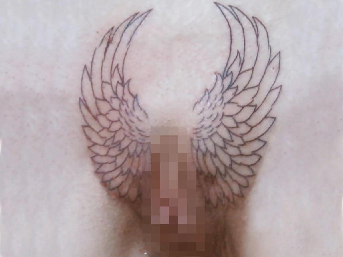 タトゥー(入れ墨・刺青)まんこ画像 22
