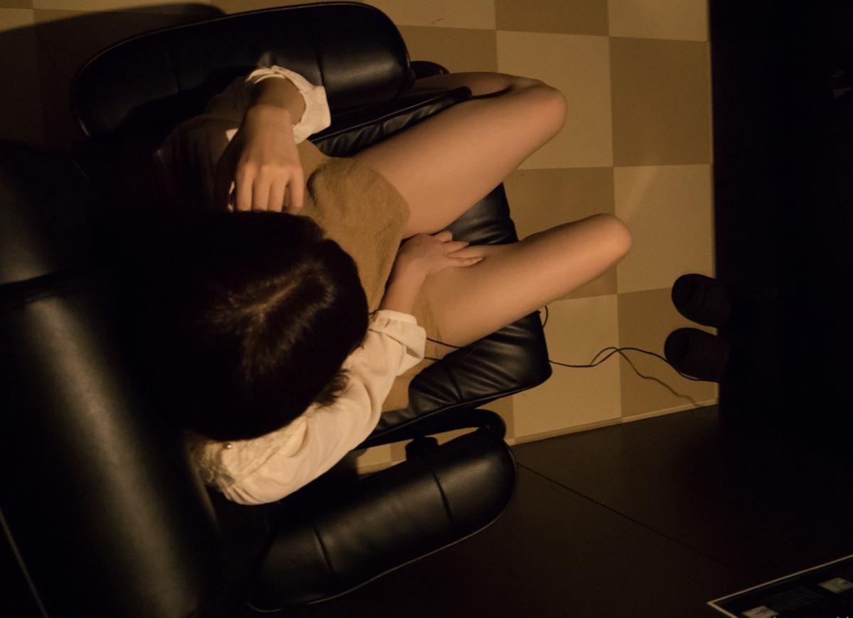 ネットカフェでハメ撮りを楽しむ素人セックス画像 41