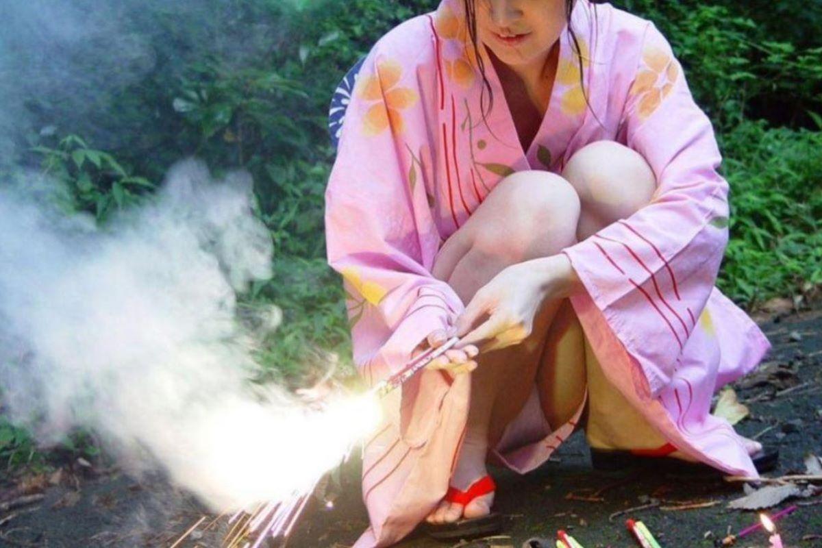 浴衣 エロ画像 55