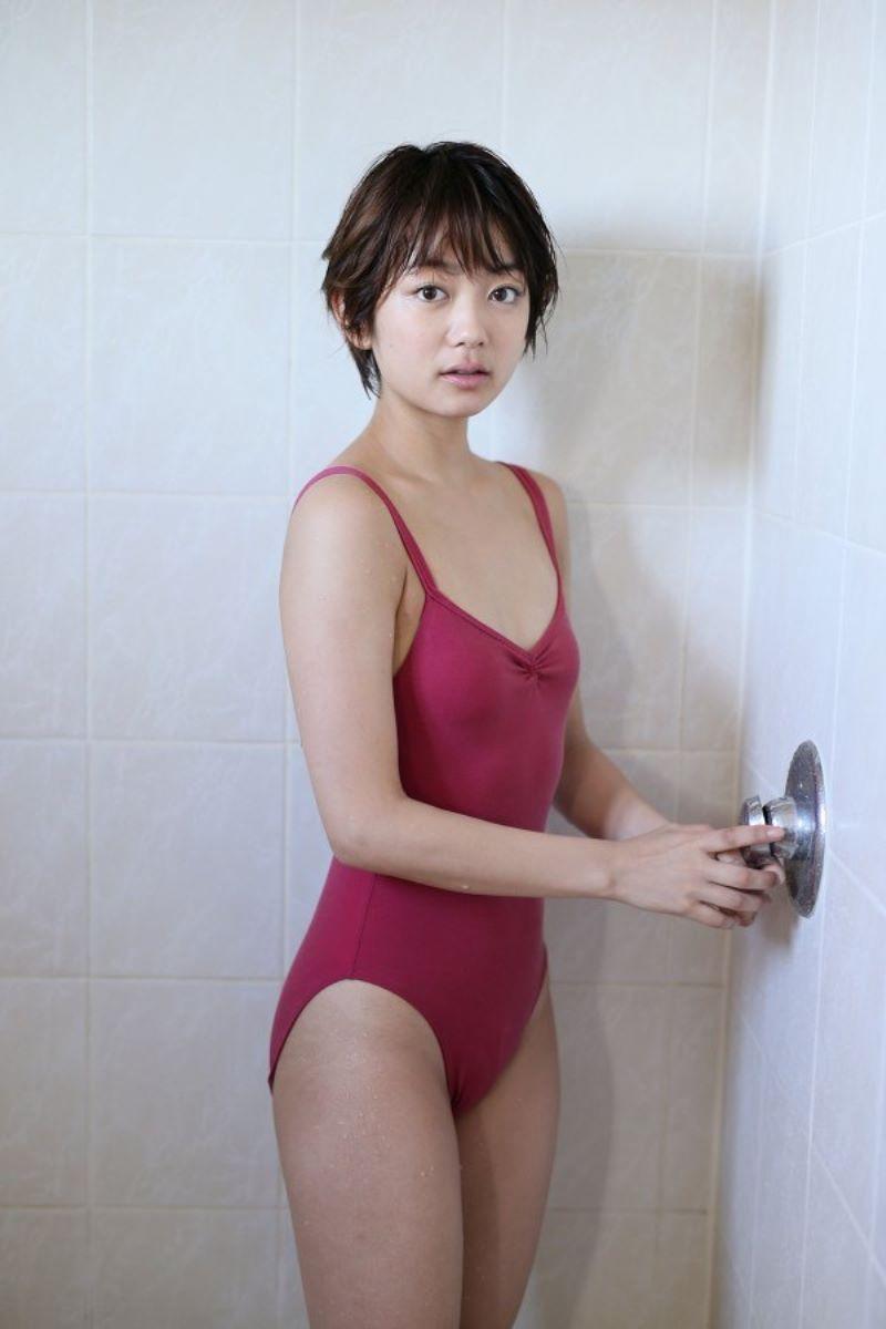 森田涼花 ちっぱい かわいい 水着グラビア画像 54