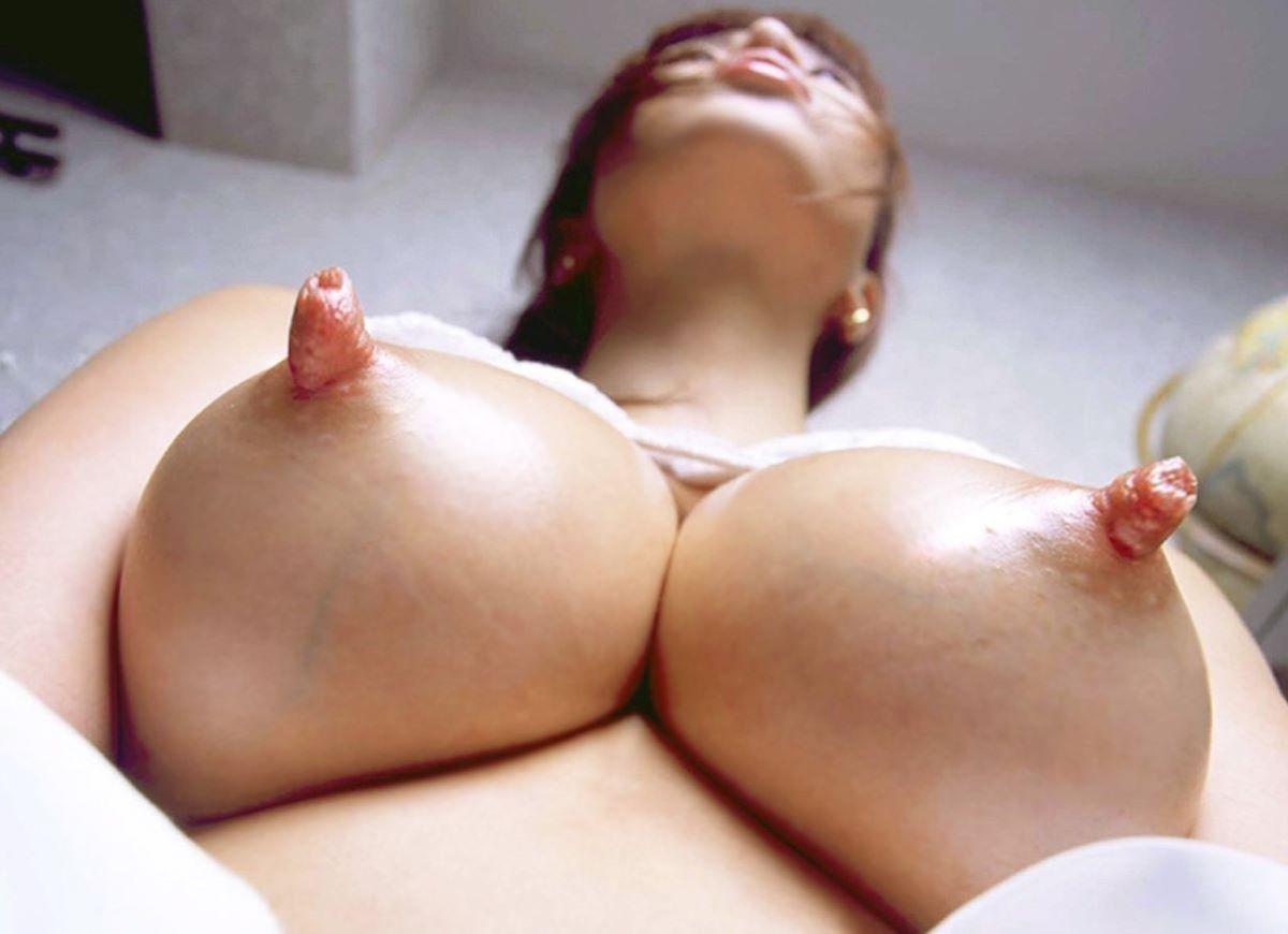 大きくて長いデカ乳首画像 9
