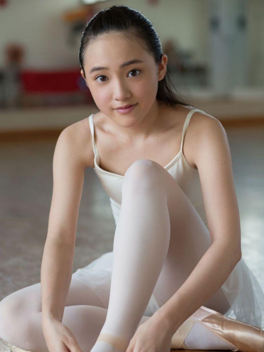 相川結 清楚なバレエ美少女の水着エロ画像