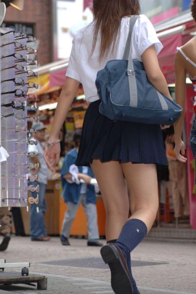 制服JK 女子高生 通学風景 画像 35