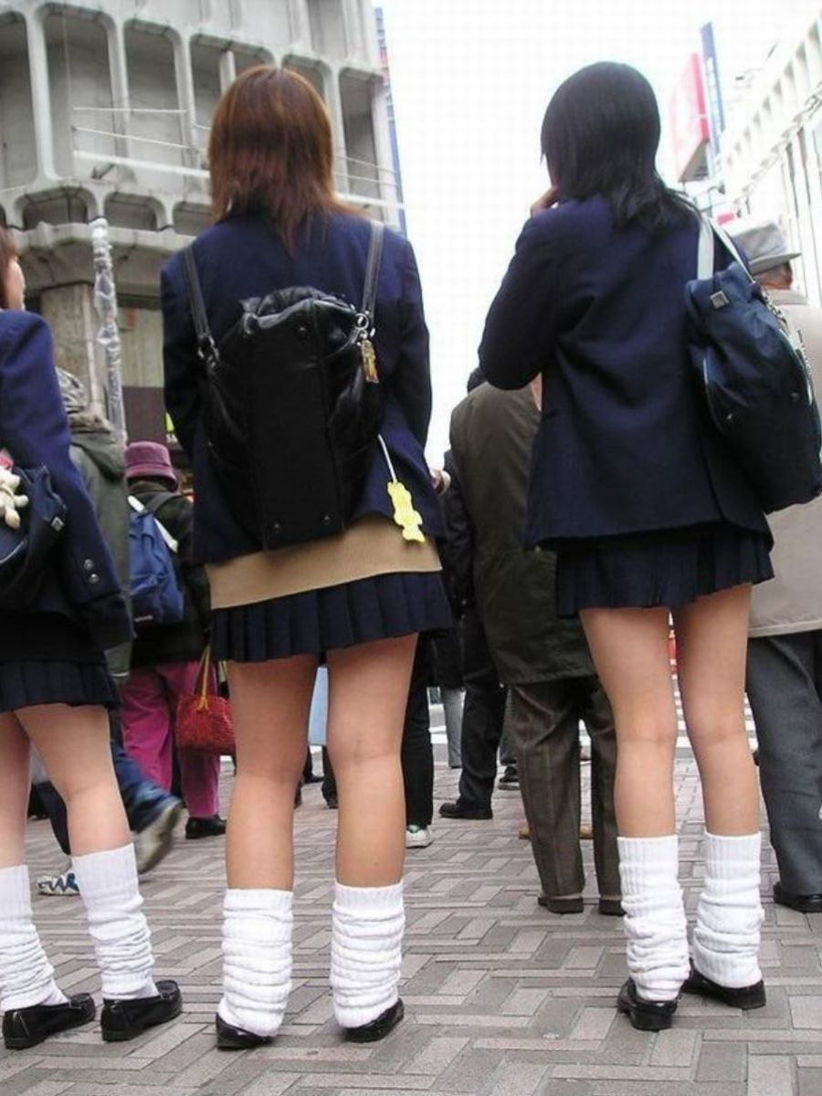 制服JK 女子高生 通学風景 画像 50