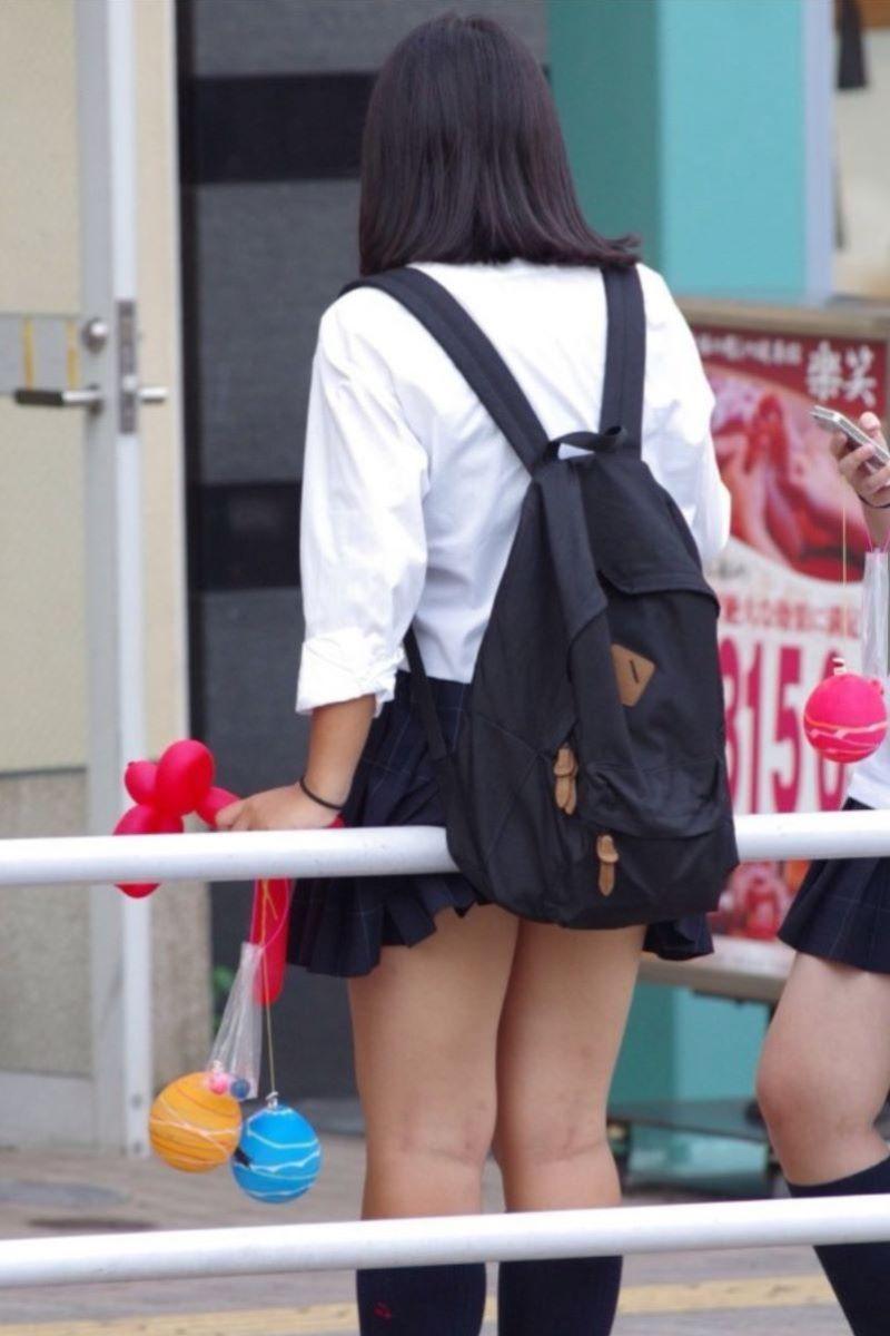 制服JK 女子高生 通学風景 画像 64