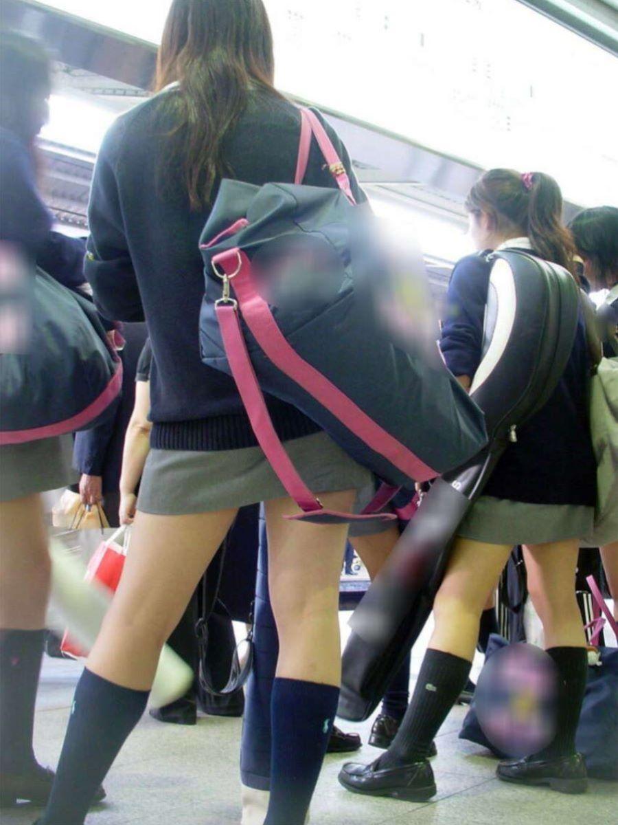 制服JK 女子高生 通学風景 画像 70