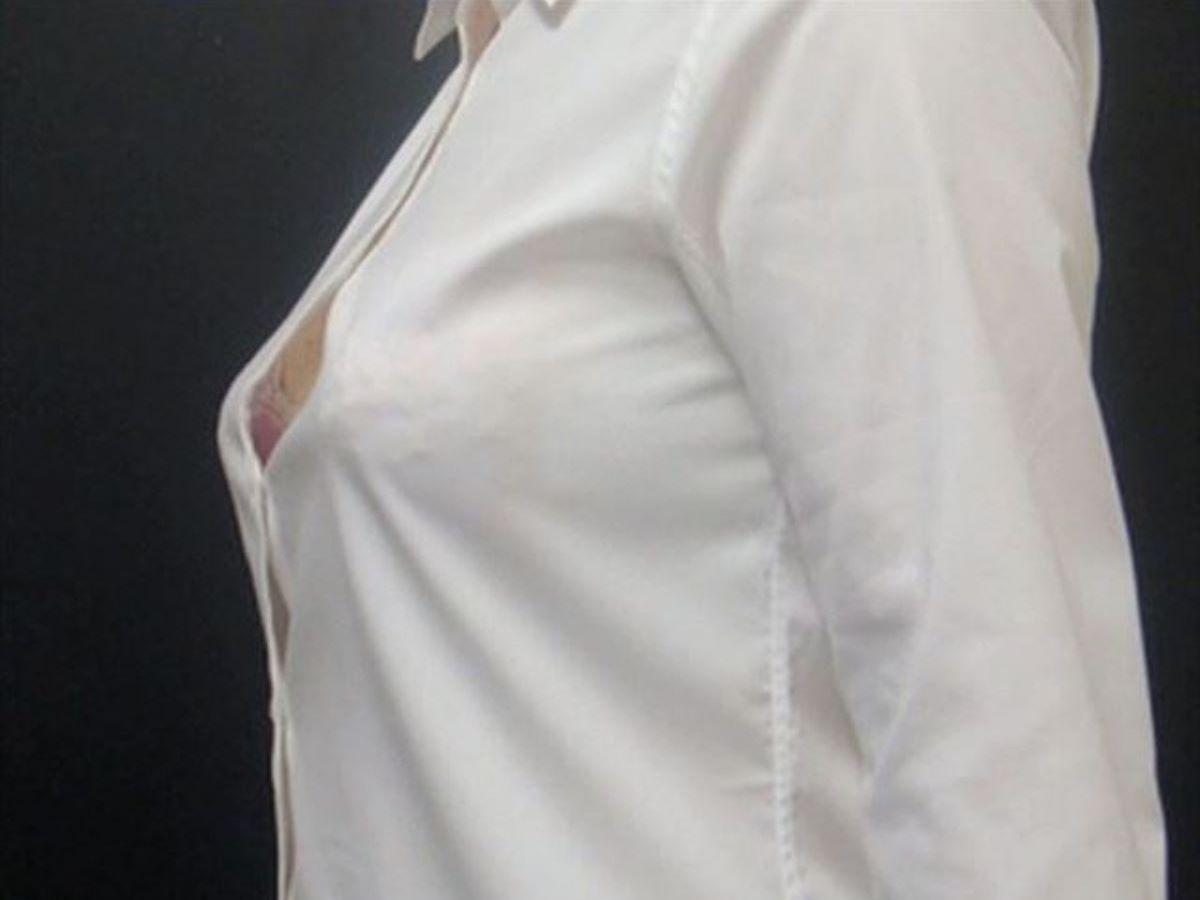 働く女性 ブラ透け画像 98