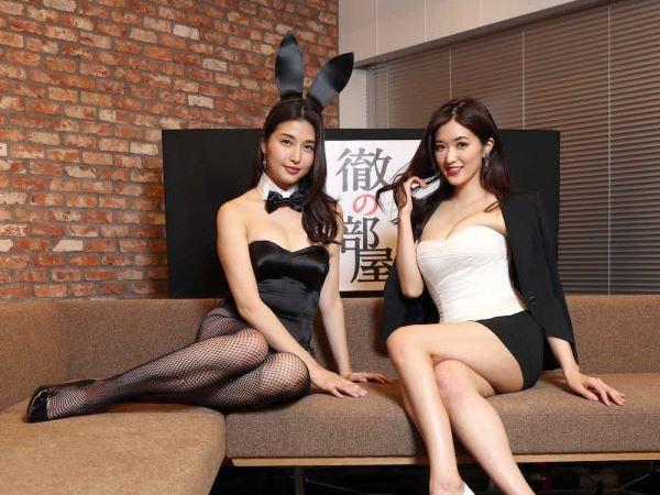 橋本マナミと葉加瀬マイがAbemaTVでハミ乳手ぶらヌードを披露…(※動画あり)