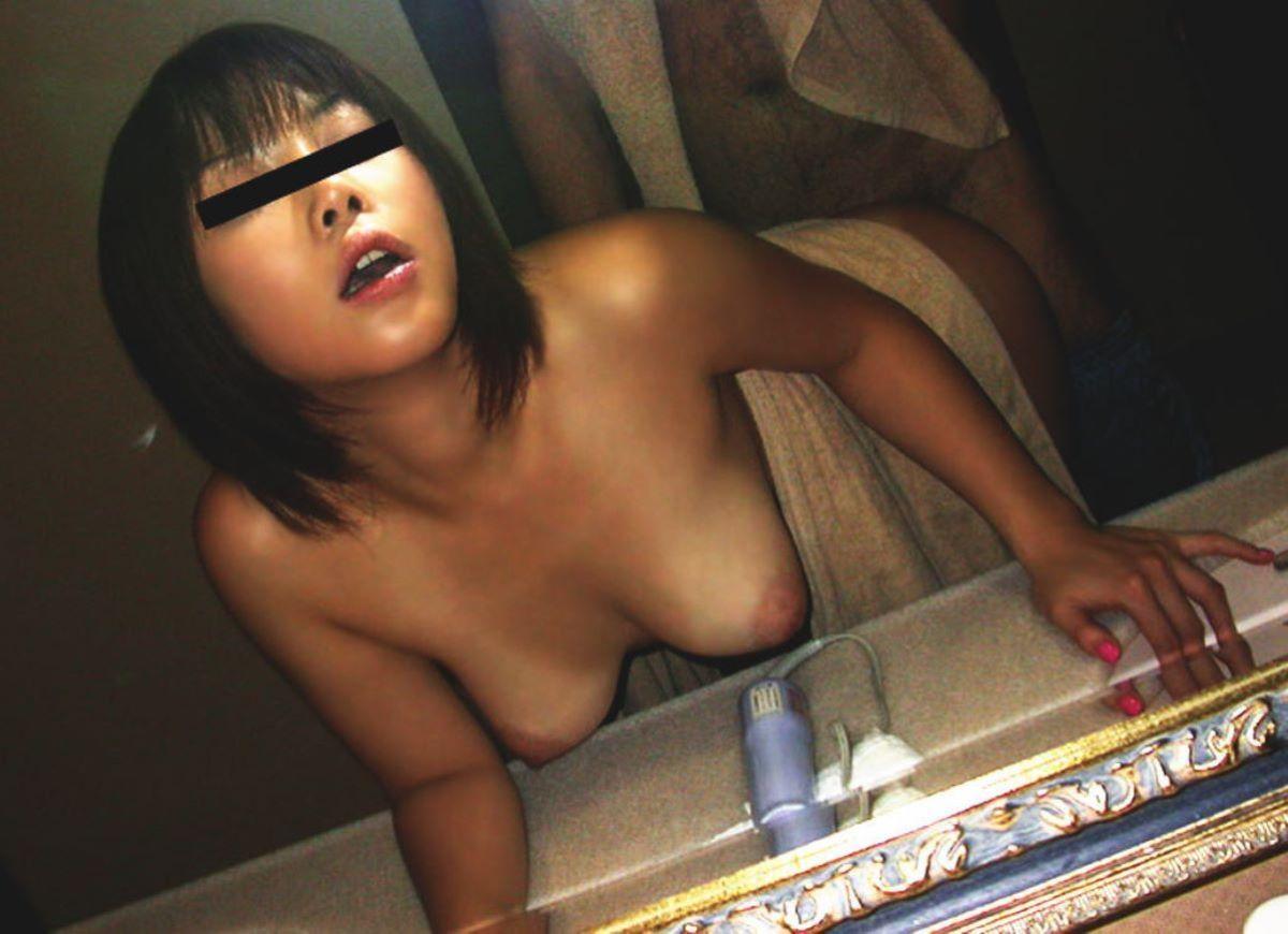 鏡撮り 素人 エロ画像 57