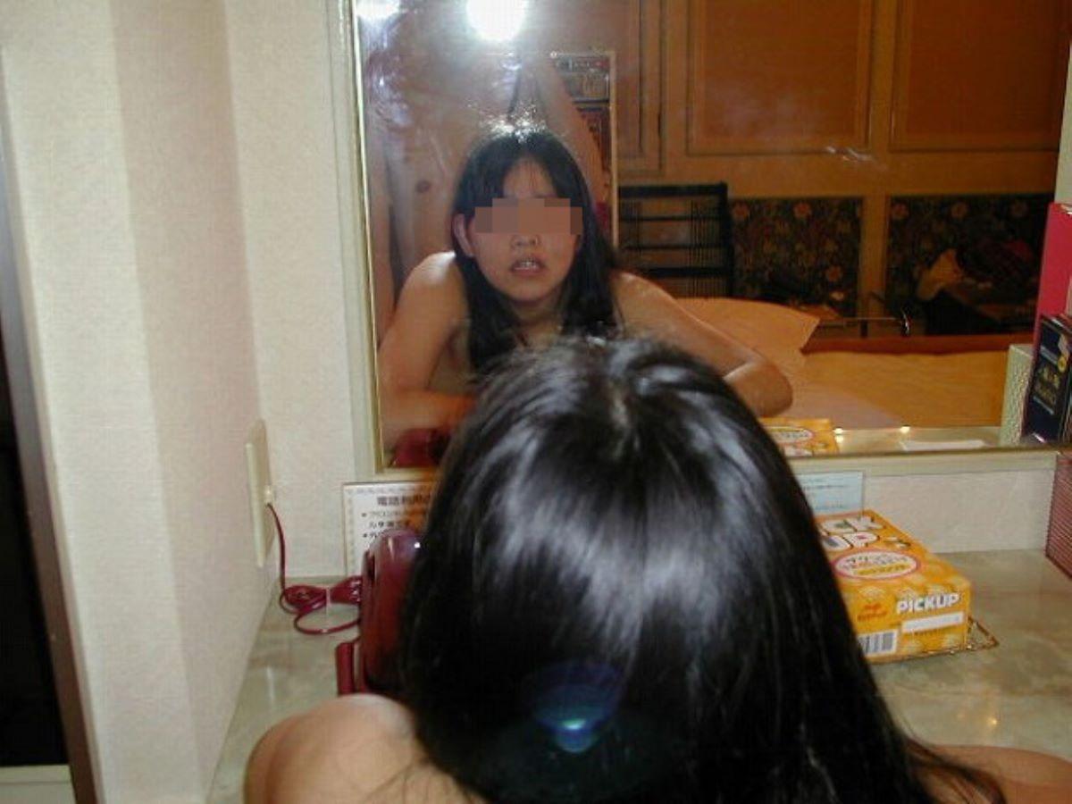鏡撮り 素人 エロ画像 63