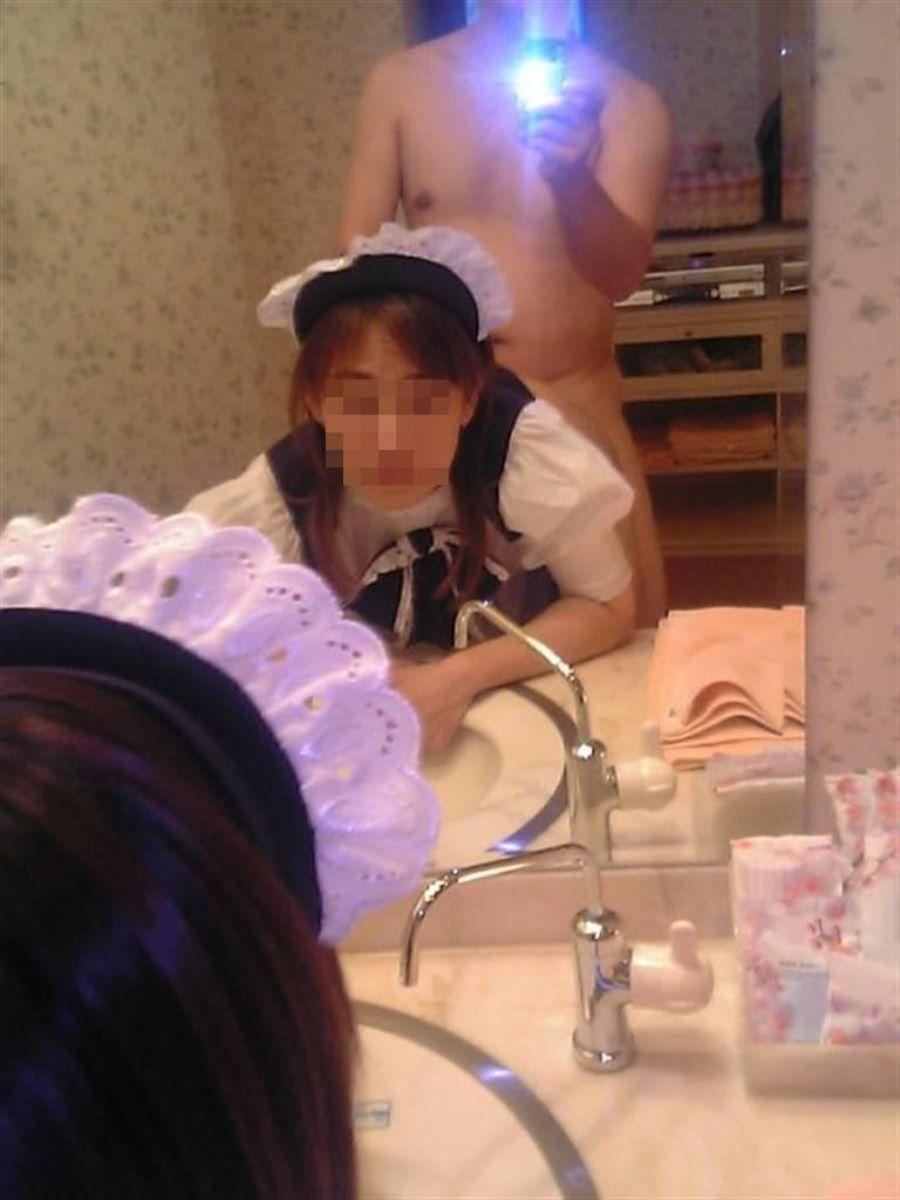鏡撮り 素人 エロ画像 83