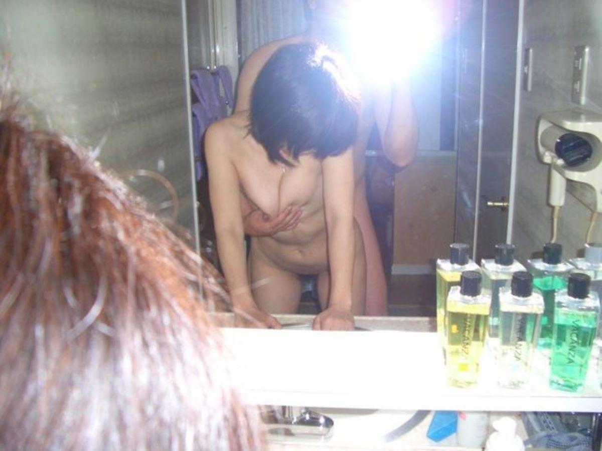 鏡撮り 素人 エロ画像 94