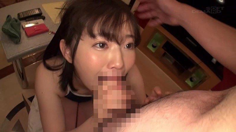 小松美柚羽 処女が初フェラで飲精するAVデビュー画像