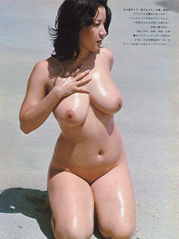 大島ゆう子や昭和を彩ったグラビアアイドルのヌード画像