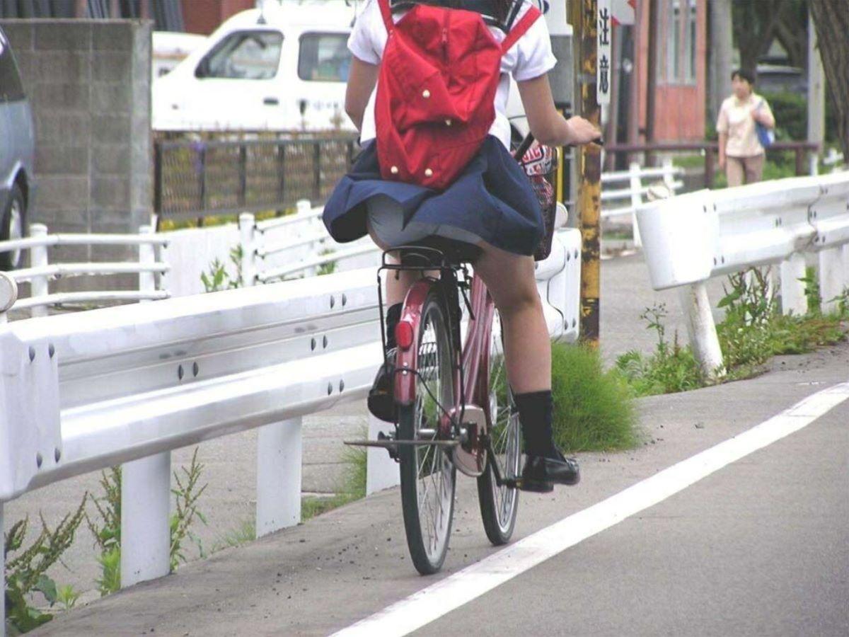 JK 自転車パンチラ画像 50