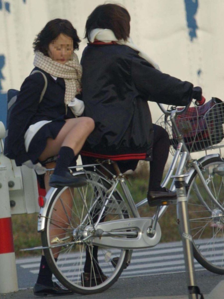 JK 自転車パンチラ画像 58