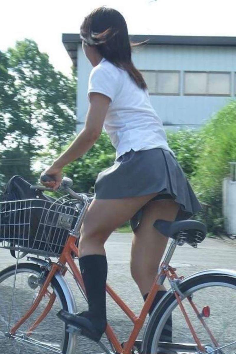 JK 自転車パンチラ画像 71