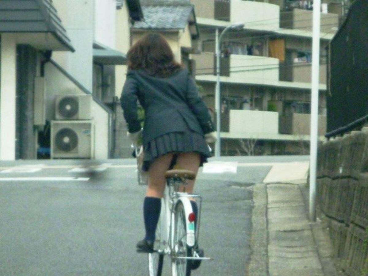 JK 自転車パンチラ画像 83
