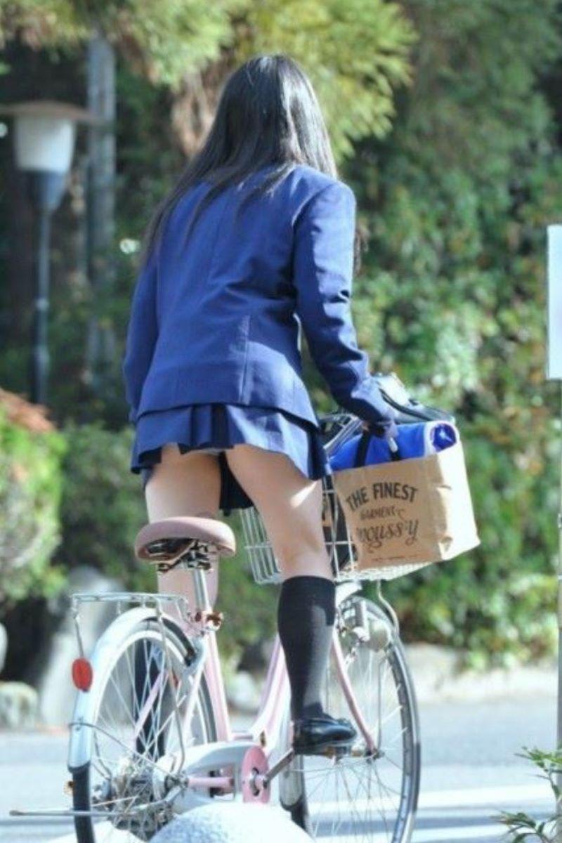 JK 自転車パンチラ画像 88