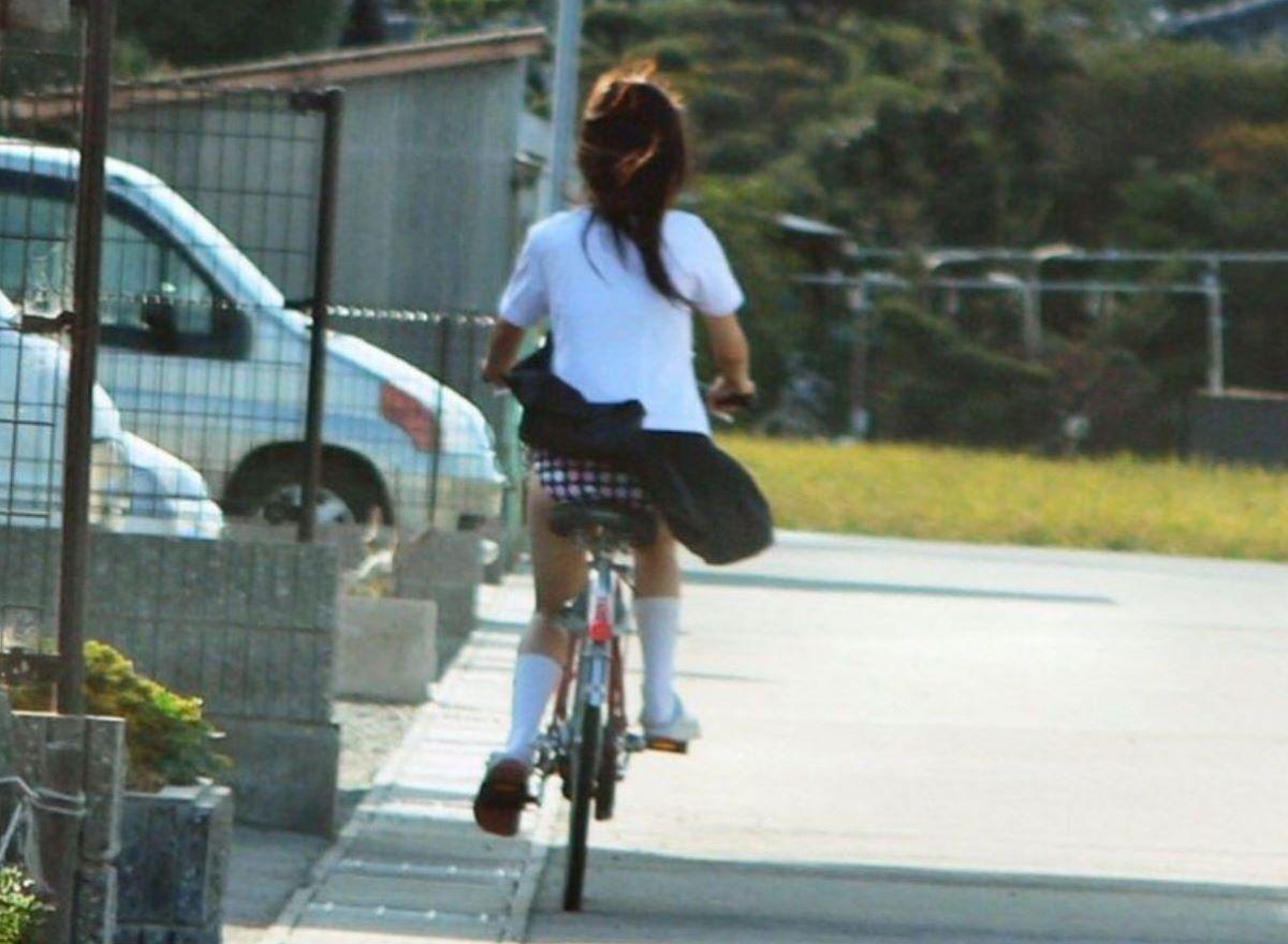 JK 自転車パンチラ画像 98